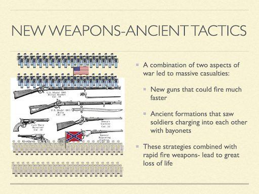 New Weapons Ancient Tactics