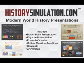 Modern World History Presentations