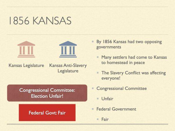 1856 Kansas