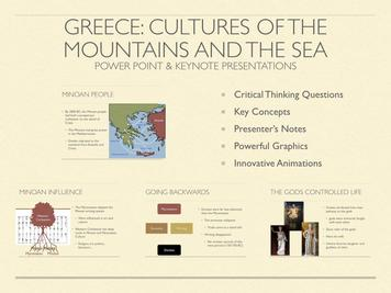 Greece: Culture of the Mountains and The Seas