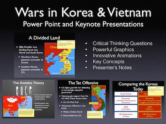 Wars In Korea and Vietnam Presentation