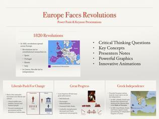 Europe Faces Revolutions Presentation