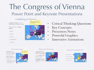 The Congress of Vienna Presentation