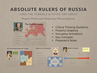 Absolute Rulers of Russia Presentation