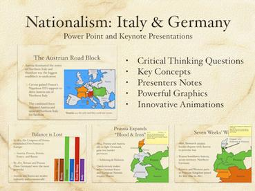 Nationalism Italy and Germany Presentation
