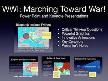Marching Toward War Presentation