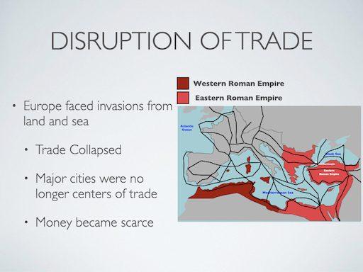 Disruption of Trade
