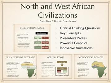 North and West African Civilizations Presentation