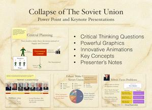 Collapse of The Soviet Union Presentation