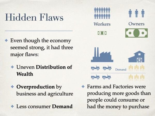 Hidden Flaws In The Economy